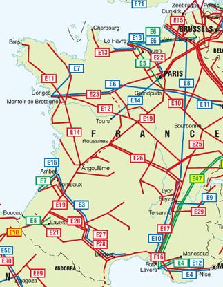 mapa tuberias en francia y blgica oleoductos tuberas de gas natural gasoductos